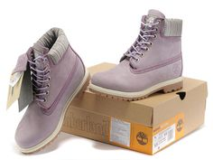 purple timberland 6 inch boots leather boots for women online sale.