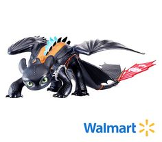 Bring home the biggest Toothless toy available with the incredible 23-inch Mega Toothless Alpha Edition Dragon! Available at Walmart