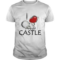 New Tshirt Great I Love Castle At Best Selling Hoodies Funny Tee
