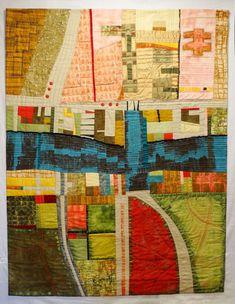 "The King`s Wardrobe Was Here, 52 x 39"", by Marika Pineda    SAQA"