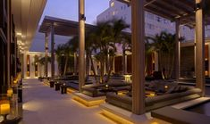 Remarkable bars in The Setai, Miami Beach.