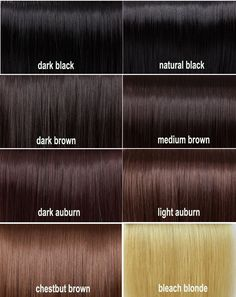 Shades Of Brown Hair Color Chart - Best Safe Hair Color Check more at http://www.fitnursetaylor.com/shades-of-brown-hair-color-chart/