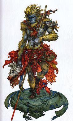artbookisland:    Monkey King by Katsuya Terada. ... at Yellowmenace