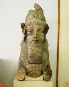 Head of a lamassu from the Tripylon Persepolis