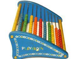 Vintage Toy, Playskool Abacus~~