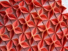 Mika Barr: geometric patterned 3D fabric
