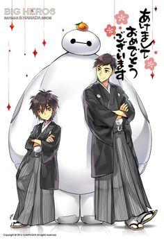 #Dessin #Fanart Hiro et Tadashi Hamada #LesNouveauxHéros par hiyaa_ #BigHero6