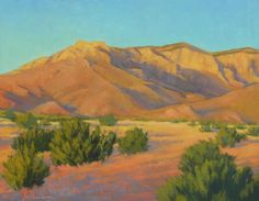 by Sunlit Sandias by Jeannie Sellmer