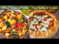La pizza rustica ripiena di verdure è una ricetta facile e sfiziosa, ideale per un antipasto, un aperitivo o un buffet di festa.