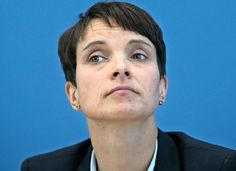 Frauke Petry born 1 June 1975) is a German politician who is chair of the Alternative for Germany (AfD) party since 4 July 2015. Petry had been described as a representative of the national conservative wing of her party by most political scientists.