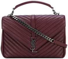 Saint Laurent Monogram College satchel bag