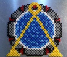 Stargate hama perler beads  by Sonja Ahacarne