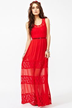 Laced Maxi Dress $78.00