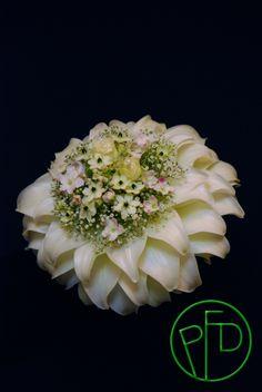 Kaunein morsiuskimppu-näyttely 2014. The Most Beautiful Wedding Bouquet Show 2014. Bridal Bouquet By Ingela Waismaa /Flora varia