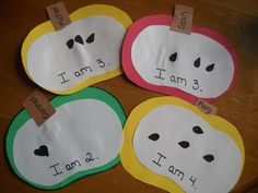 Mamas Like Me: Easy Apple Craft - Or use with Saxon math apple graphing lesson.