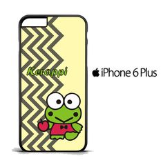 keroppi vertical zigzag C0365 iPhone 6 Plus   6S Plus Case