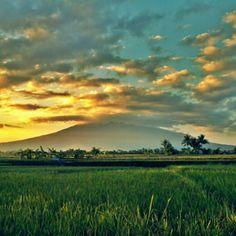 الْحَمْدُ لِلهِ رَبِّ الْعَالَمِينَ Galunggung Mountain, Indonesia