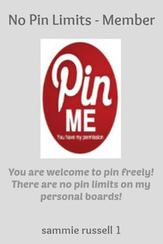 No Pin Limits - Member: sammie russell 1 - Visit profiles here: http://www.pinterest.com/jabez_c http://www.pinterest.com/jabezc777