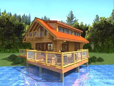 1000 images about log plans on pinterest cabin rentals for Vacation cabin kits