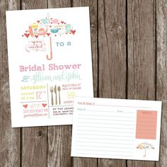 SALE.+Digital+Umbrella+Bridal+Shower+by+MeyerMarketDesigns+on+Etsy,+$13.00