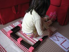 Brown Stair and Pink Tower Extensions @Beth J Nativ Nativ Rubin Tice-Caywood like Sunshine #Montessori
