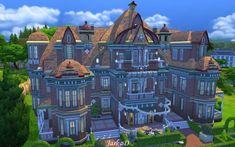 JarkaD Sims 4: Colette Castle • Sims 4 Downloads