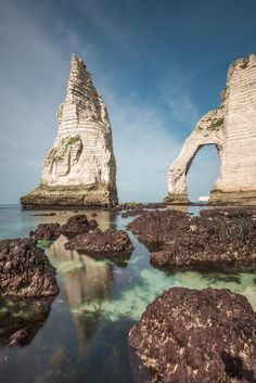 Etretat, Normandy, France.