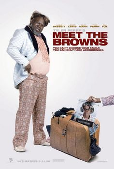 Watch->> Meet the Browns 2008 Full - Movie Online Movie Titles, Movie Tv, Movie Posters, Tyler Perry Movies, Black Actors, Romance, Three Kids, Streaming Movies, Good Movies