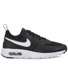 Nike Boys' Air Max Vision Running Sneakers from Finish Line - Black 5.5