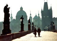 Silhouettes, Prague, Czech Republic