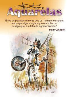 #Aquarela  #Domquixote  #Flavioribeiro