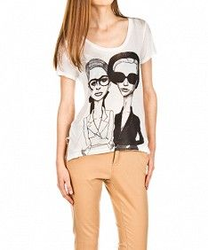 Jokk Blanco Talking T, T Shirts For Women, Fashion, T Shirts, Products, White People, Blouses, Clothing, Moda