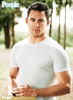 Channing Tatum, People's 2012 Sexiest Man Alive...Agreed!