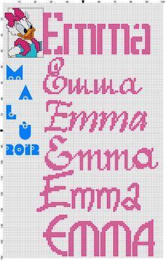 Emma con Paperina