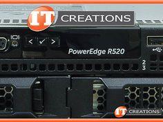 DELL POWEREDGE R520 SERVER TWO E5-2450L 1.80GHZ 96GB 5 X 2TB SAS H310