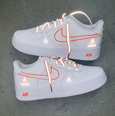 Cute Nike Shoes, Cute Sneakers, Women Nike Shoes, Shoes Sneakers, Cute Teen Shoes, Nike Custom Shoes, Custom Jordans, Sneakers Women, Jordan Shoes Girls