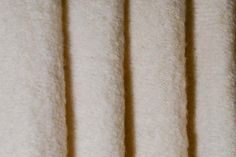 Ivory Boiled Wool Coating (Made in the Netherlands)