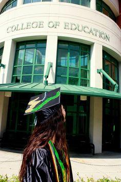 Graduation Picture - Do it in front of my nursing school! #StudentNurse #Nursing #SFASU