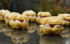 Cinnamon and orange Viennese whirls biscuits