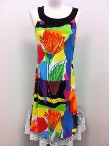 7c18e82371efa bold coloured dress by Joseph Ribkoff - via Sisters