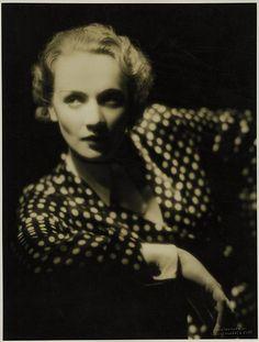 Marlene Dietrich; photo by Eugene Robert Richee