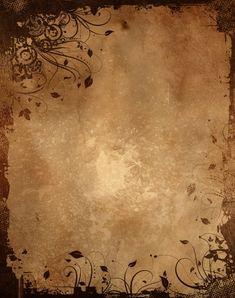 Vintage paper background with grunge floral design Royal Background, Old Paper Background, Background Vintage, Papel Vintage, Vintage Paper, Vintage Floral, Vintage Writing Paper, Küchen Design, Floral Design