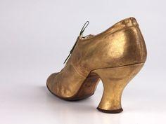 Shoes ca. 1880-90 @vintageclothin.com