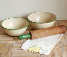 Vintage Farm House Baking Set