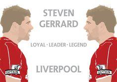 ♠ Steven Gerrard - LOYAL LEADER LEGEND #LFC #LFCicon #CaptainFantastic
