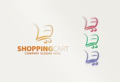 Exclusive Shopping Logo by CreativeDezing on @creativemarket