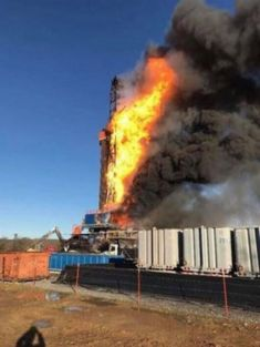 Quinton Gas Well Drilling Company Knew Rig Was Unsafe Before Blowout, Fire That Killed Five, Amended Lawsuit Claims Oilfield Man, Oilfield Trash, Oil Rig Jobs, Rig Welder, Company Job, Drilling Rig, Oil Industry, Oil And Gas, Rigs