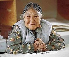 Kenojuak Ashevak (born1927) was born in an igloo in an Inuit camp, Ikirasaq, at the southern coast of Baffin Island. She is regarded as one of the most notable Canadian pioneers of modern Inuit art.