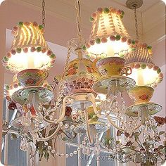 tea room lights