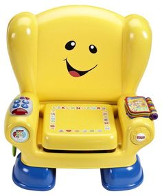 (Fisher-Price), ages 1 and upThe interactive chair features new technology that updates content automatically as your baby grows. The seat features a light-up remote, a flip book, a lift-up cushion and more. ($39.99